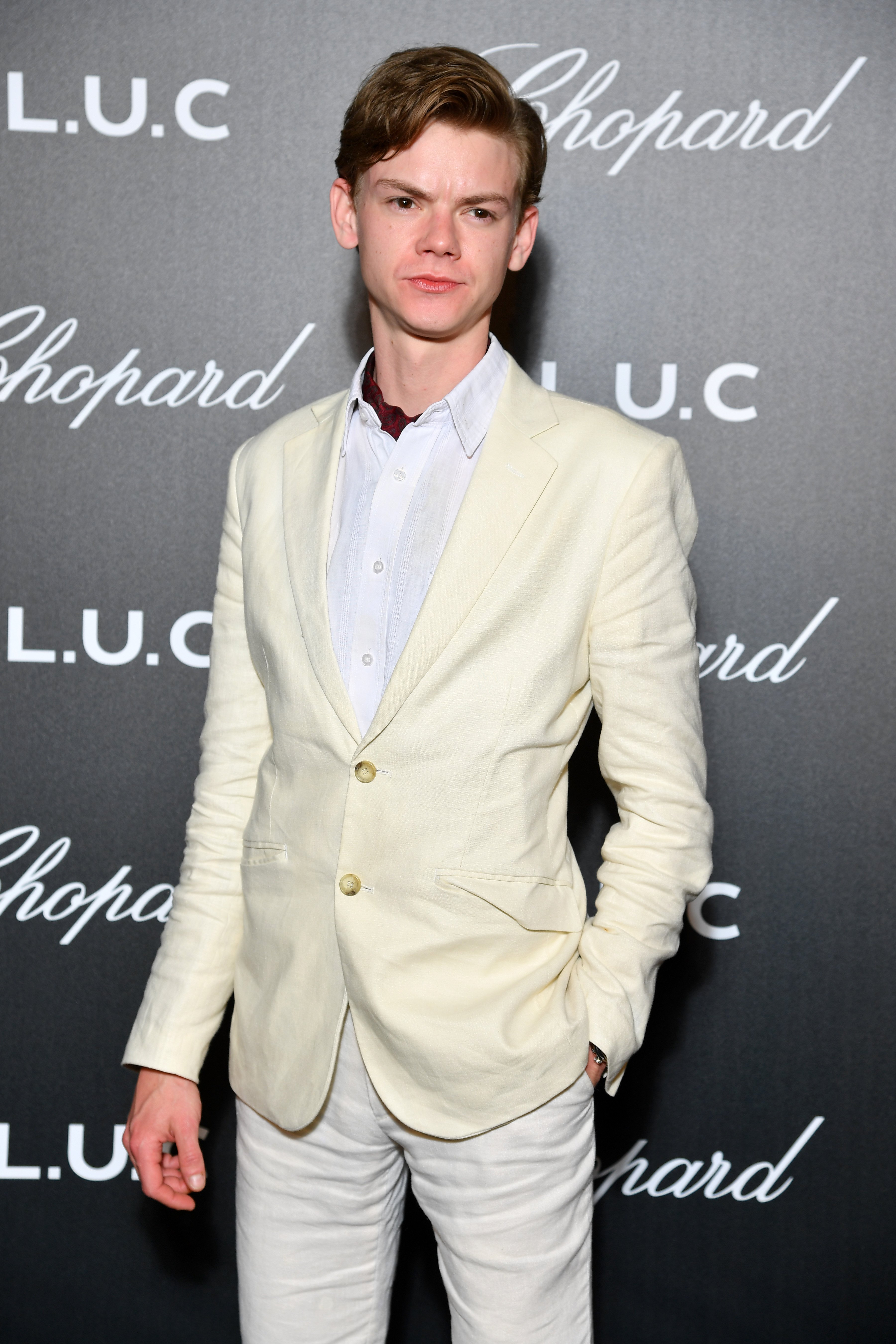 Thomas Brodie-Sangster attends Chopard's The Gentleman's Evening At The Hotel Martinez at Hotel Martinez on May 21, 2019 | Photo: Getty Images