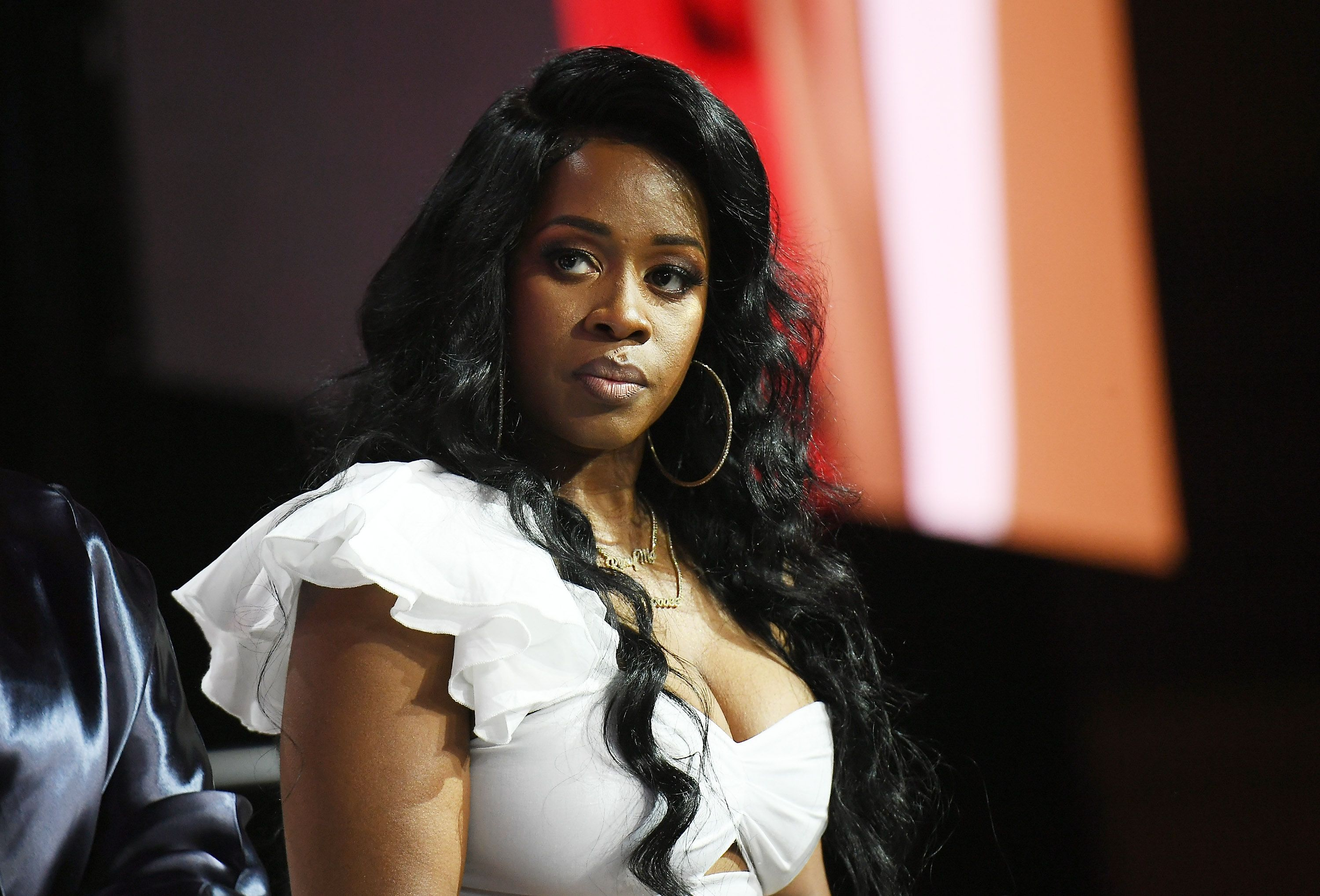 Remy Ma speaks onstage at the 2018 Essence Festival at Ernest N. Morial Convention Center on July 6, 2018 | Photo: Getty Images