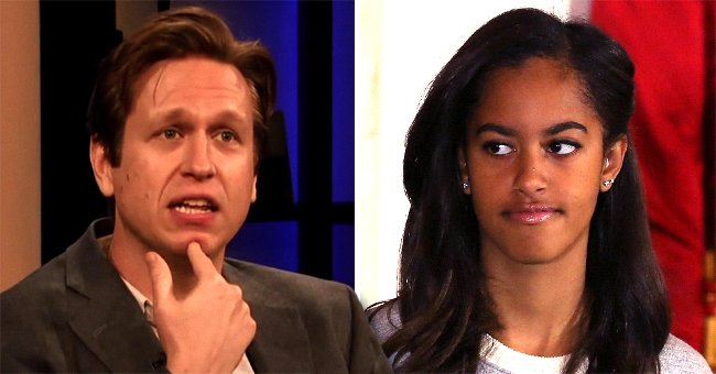 Pete Holmes Says He Accidentally Told Malia Obama to Shut up during His Comedy Show in Massachusetts