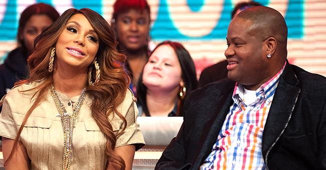 Tamar Braxton and Ex Vincent Herbert Reunite to See off Son Logan on 1st Day of School