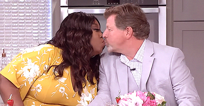 Loni Love's Boyfriend James Welsh Makes On-Air Debut on 'The Real'