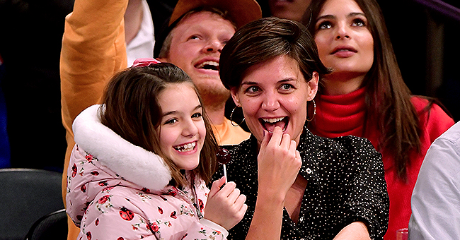 'Kennedys' Actress Katie Holmes Shares Painting of a Mother-Daughter Duo on National Daughters Day