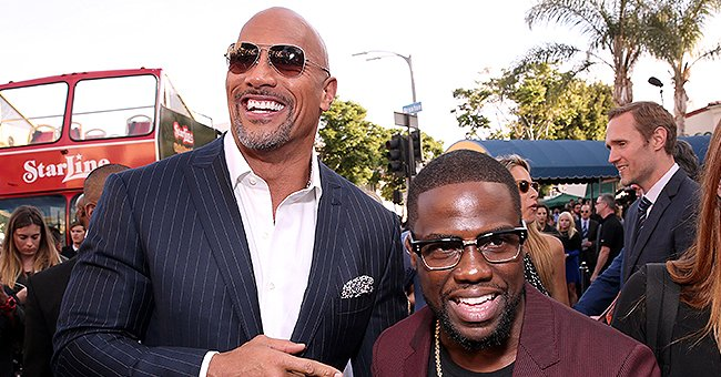 Dwayne Johnson Cradles Baby Yoda and Can't Wait to Introduce Him to His Brother Kevin Hart in a Hilarious New Meme