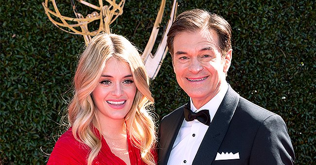 Dr Oz Proudly Shows off Infant Granddaughter after Her First Christmas Service