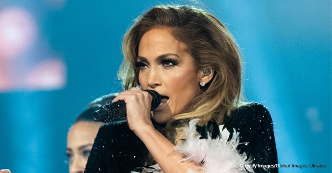 J.Lo dazzles from head-to-toe in a plunging bodysuit during a show-stopping Elvis tribute