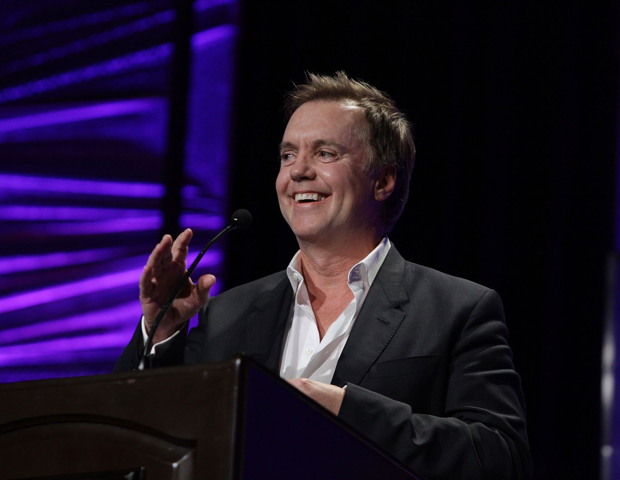 Actor Shaun Cassidy speaks during the 27th Annual Casting Society of America Artios Awards ceremony | Getty Images / Global Images Ukraine
