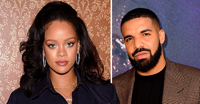 Rihanna and Drake Reunite at Rapper's Birthday Party 3 Years after Their Breakup