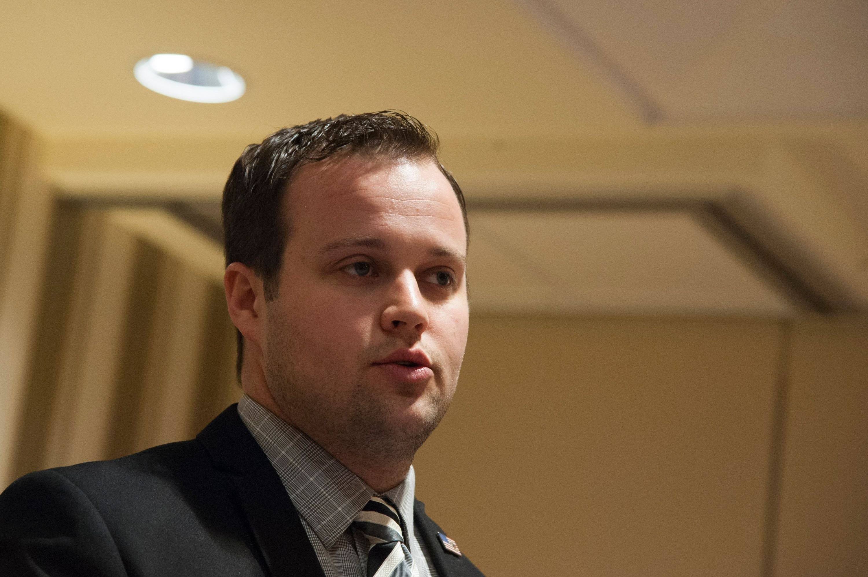 Josh Duggar speaking during the 42nd annual Conservative Political Action Conference at the Gaylord National Resort Hotel and Convention Center in National Harbor, Maryland   Photo: Kris Connor/Getty Images