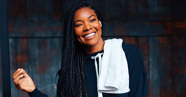 Gabrielle Union Shows off Figure in Minidress While Dancing in the Rain during New York & Company Photo Shoot
