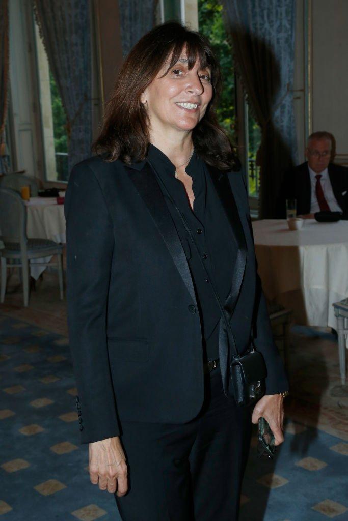 """La productrice Anne Marcassus au gala """"Vaincre Le Cancer"""", le 17 mai 2017. Photo : Getty Images"""