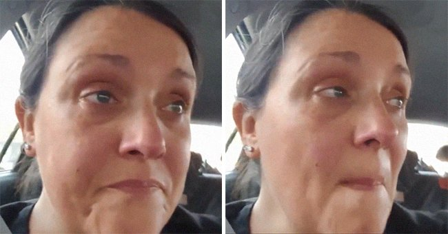 37-year-old Dianna Slade crying. | Source: twitter.com/LivEchonews