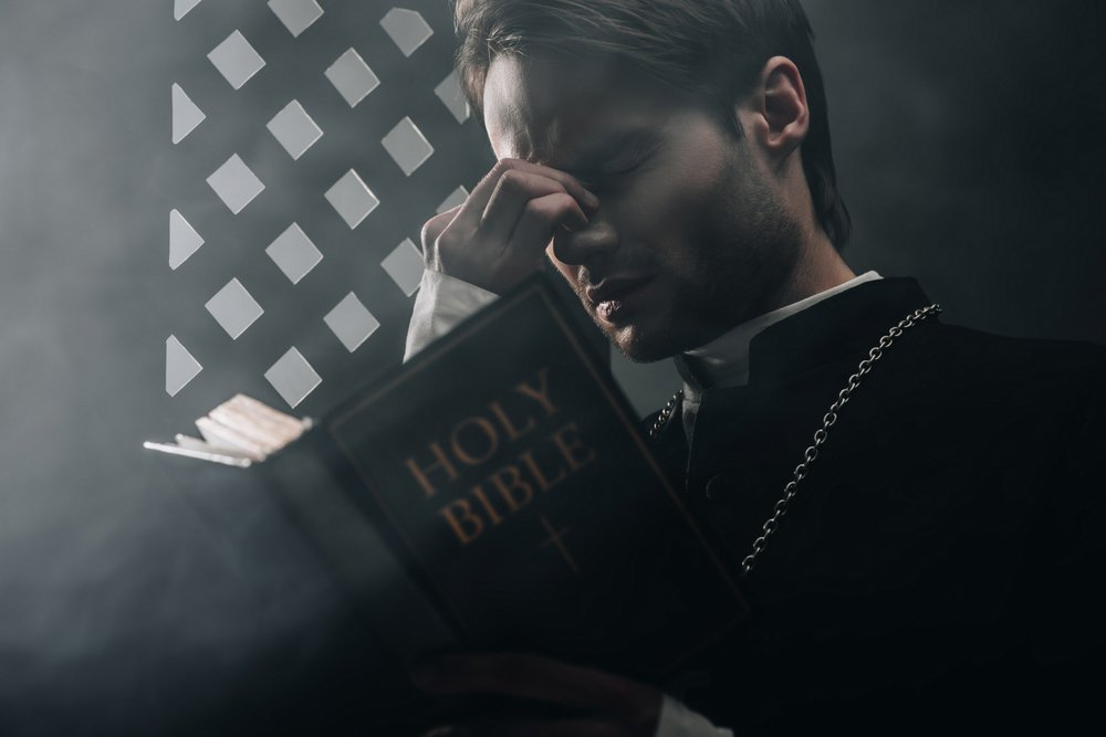 The priest after Little Johnny was not forthcoming with a name   Photo: Shutterstock