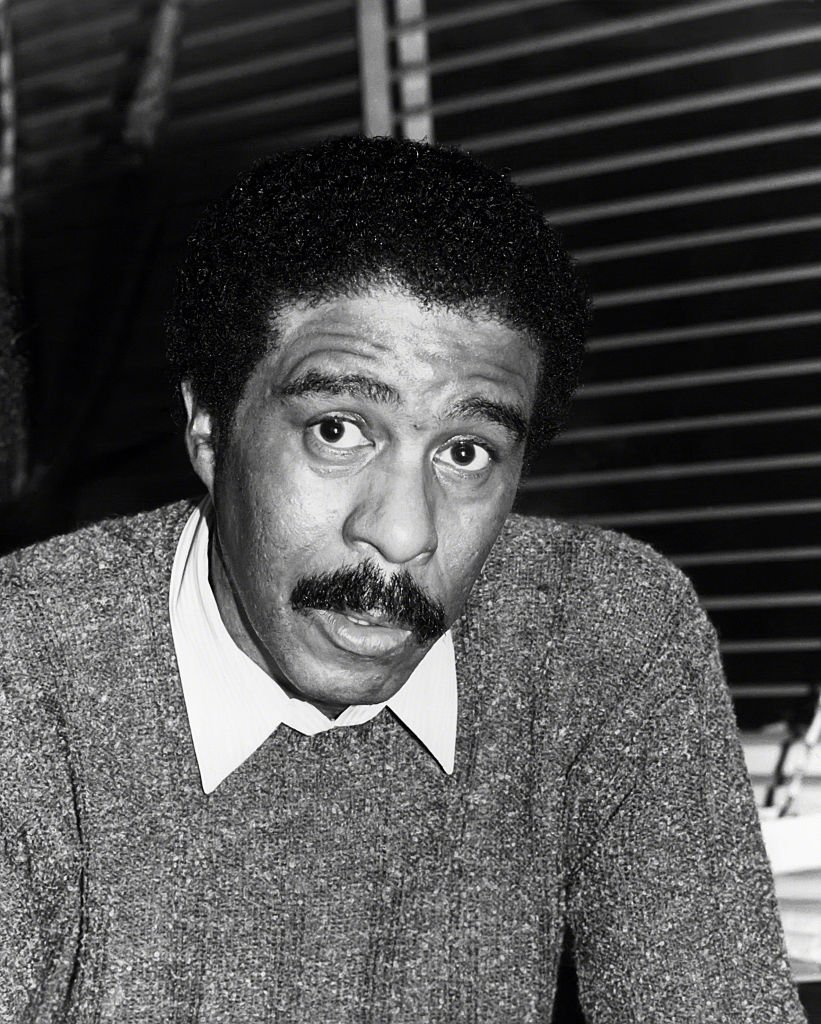 Portrait picture of Richard Pryor in New York City circa 1980. | Photo: Getty Images