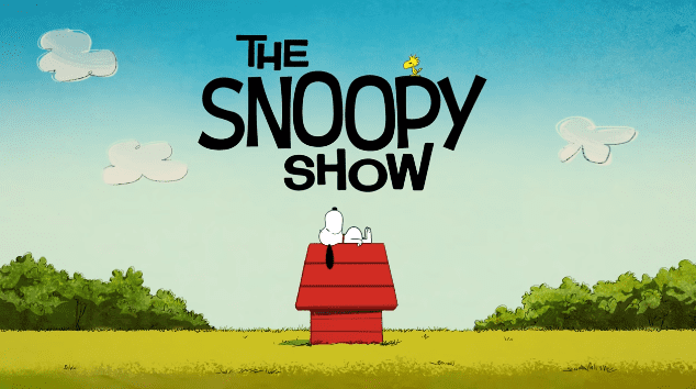 """Screenshot of the trailer of """"The Snoopy Show"""" released on January 25, 2021 