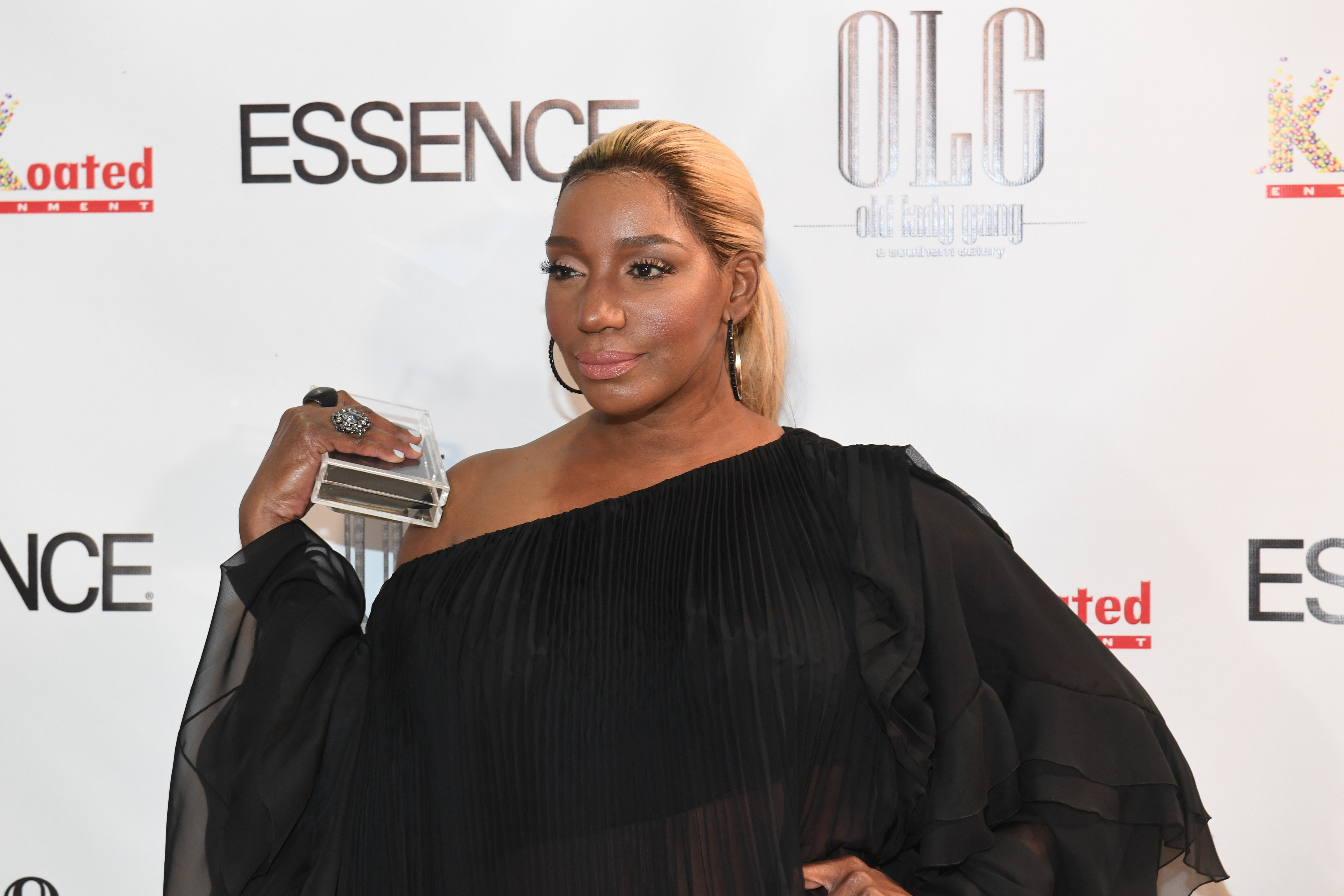NeNe Leakes celebrating Kandi Burruss cover on Essence Magazine in September 2017. | Source: Getty Images/GlobalImagesUkraine