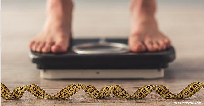 Frau ging zum Arzt, um etwas Gewicht zu verlieren