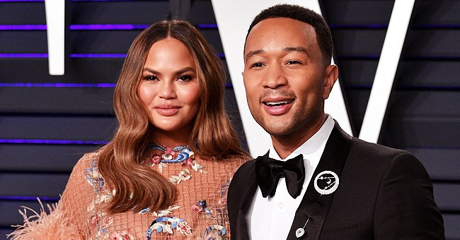 Chrissy Teigen's Husband John Legend Makes Pancakes with Their Kids in a Cute Photo