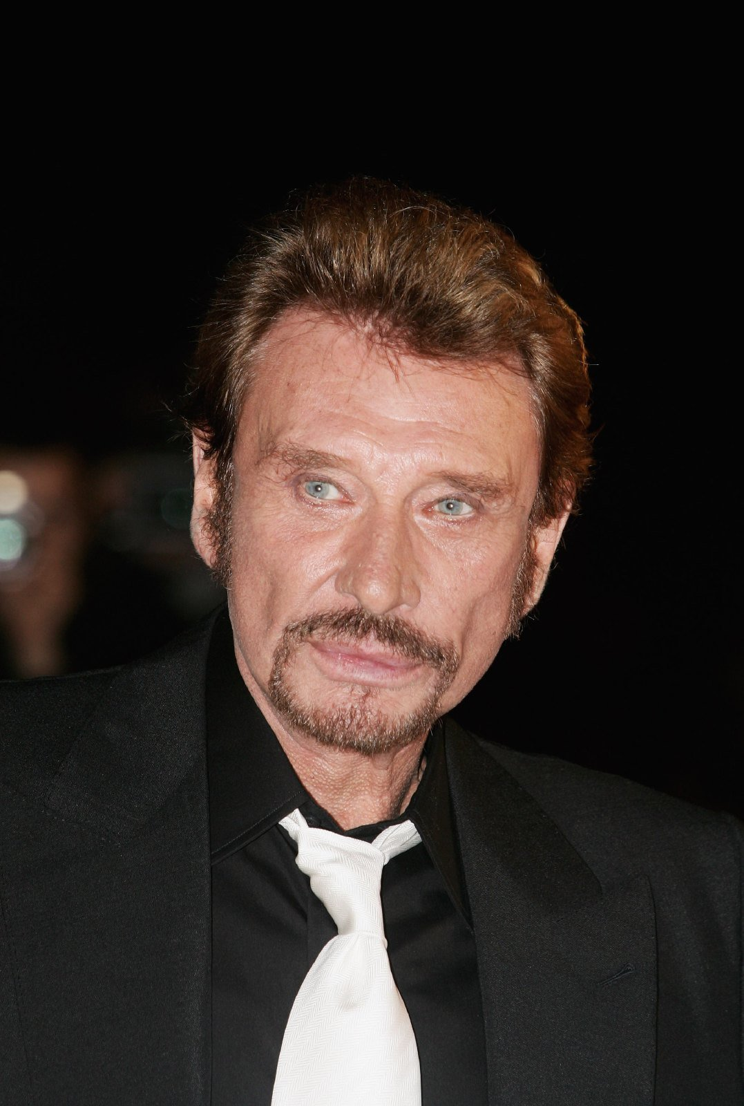 Johnny Hallyday au Palais des Festivals le 21 janvier 2006 à Cannes, France. | Photo : Getty Images