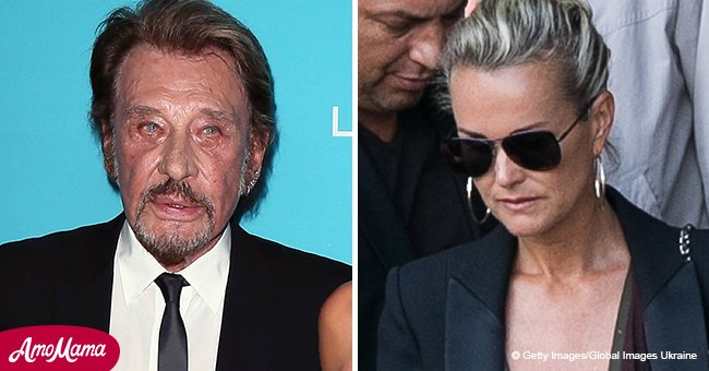 L'autre côté de Johnny Hallyday: moments d'offense publique de Laeticia