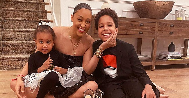 Tia Mowry's Son Cree Wears a Stylish Suit as He Poses with His Uncle Tahj — See Fan Reactions
