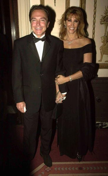 David Cassidy and his wife Sue arrive at the third annual Directors Guild of America Awards June 9, 2002, in New York City. | Source: Getty Images.