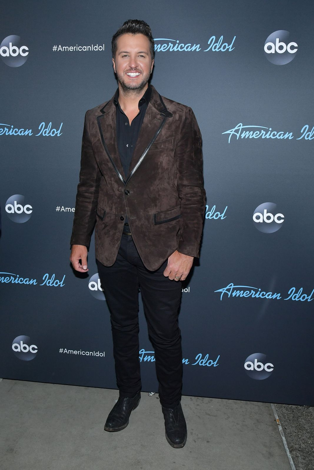 """Luke Bryan at the """"American Idol"""" Finale on May 19, 2019, in Los Angeles, California 