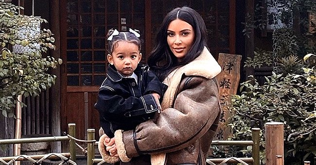 Kim Kardashian Hugs Her Daughter Chicago in a New Makeup-Free Photo