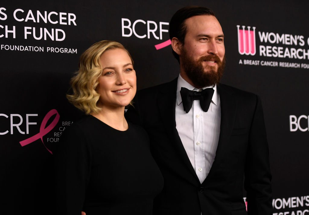 Kate Hudson and Kate Hudson and Danny Fujikawa at The Women's Cancer Research Fund's An Unforgettable Evening Benefit Gala, February 2019 | Source: Getty Images
