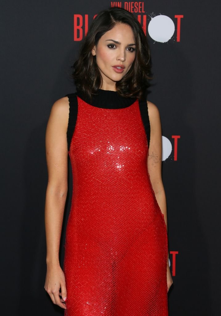 """Eiza Gonzalez attends the premiere of Sony Pictures' """"Bloodshot"""" on March 10, 2020 in Los Angeles 