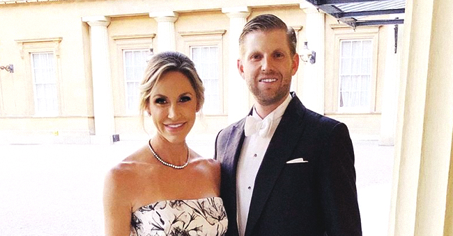 Lara Trump Gives a Glimpse of Her Baby Bump while Posing with Husband Eric