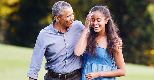Barack & Malia Obama Hike the Provence Mountains during the Family's Luxurious Vacation in France