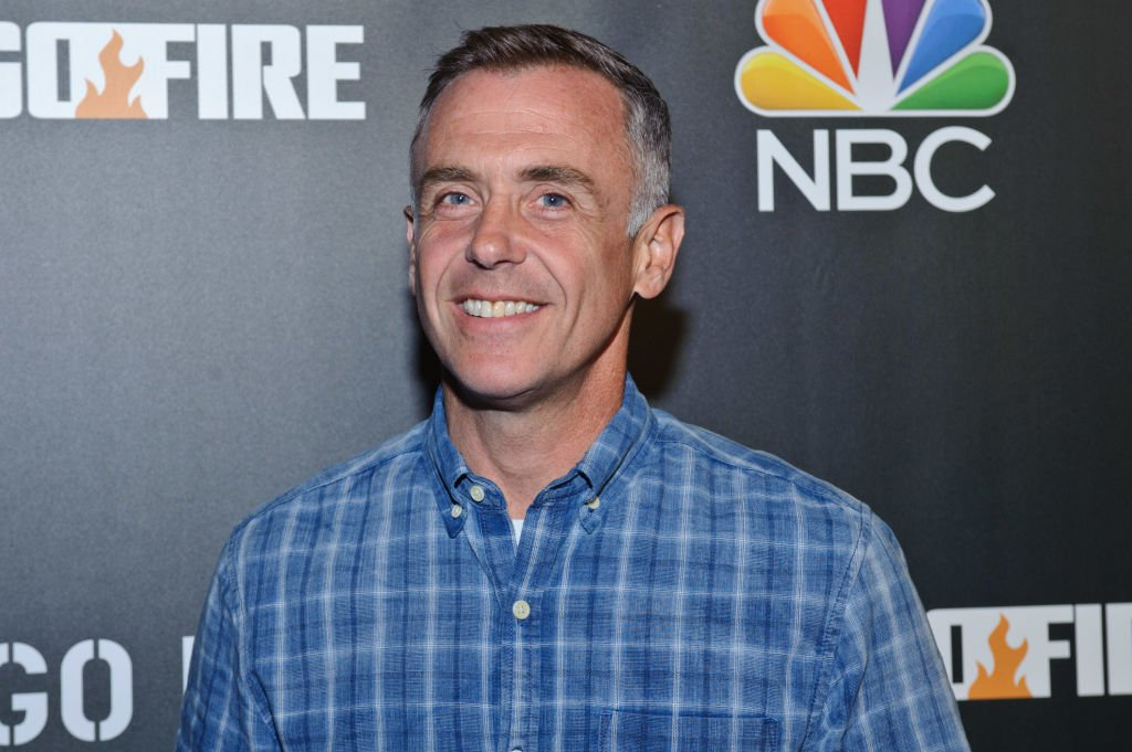 """David Eigenberg pictured at the  2018 press day for """"Chicago Fire"""", """"Chicago PD"""", and """"Chicago Med"""" 2018, Chicago. 