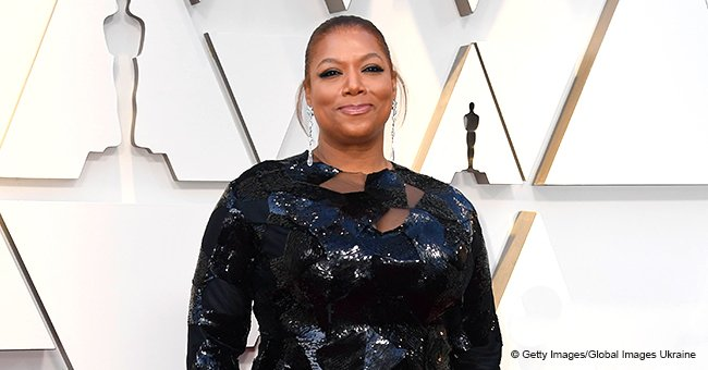 Queen Latifah Flaunts Her Youthful Beauty and Curves in Figure-Hugging Black Dress in Pic