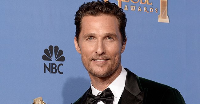 Here's How Matthew McConaughey's Kids Helped the Actor Ring in His 51st Birthday (Video)