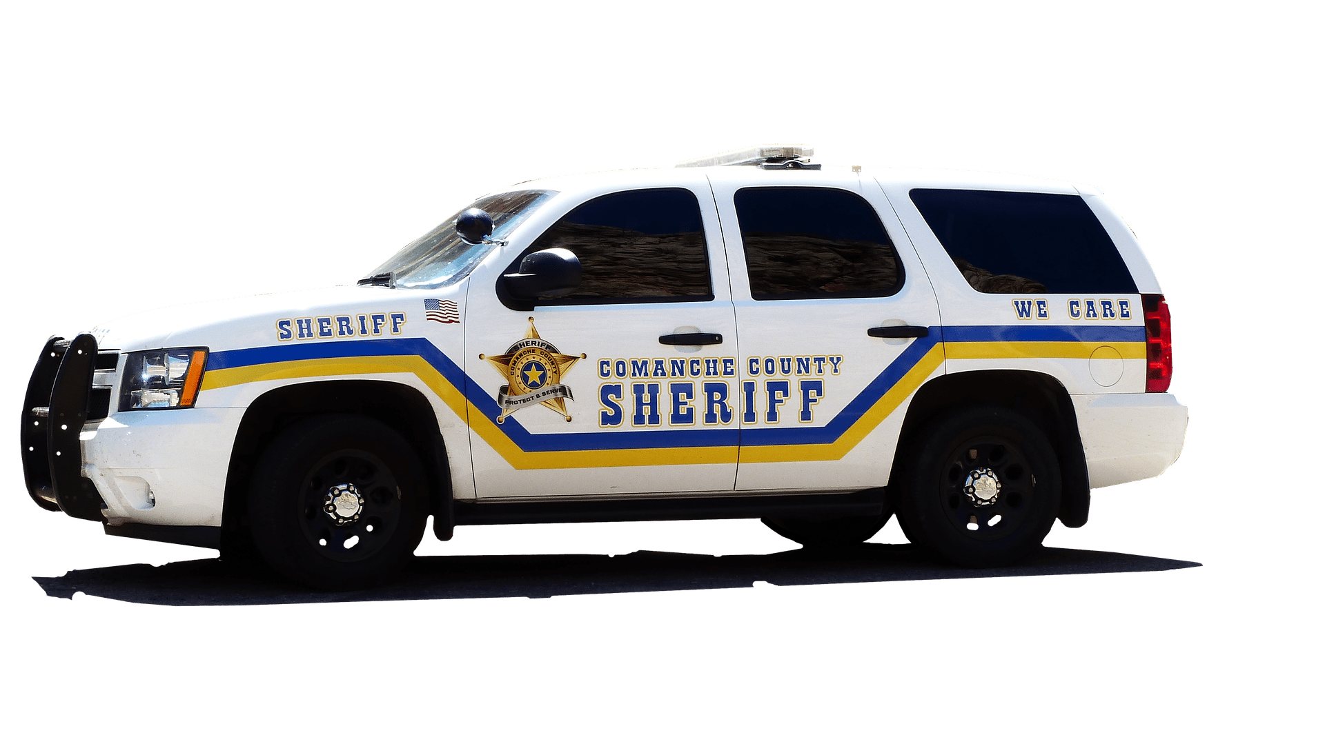 Pictured - A police sheriff vehicle   Source: Pixabay