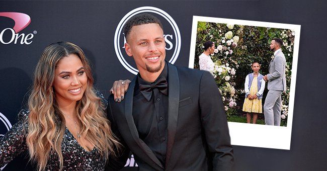 NBA player Steph Curry and wife Ayesha Curry attend the 2017 ESPYS at Microsoft Theater on July 12, 2017 in Los Angeles, California | Photo: Getty Images