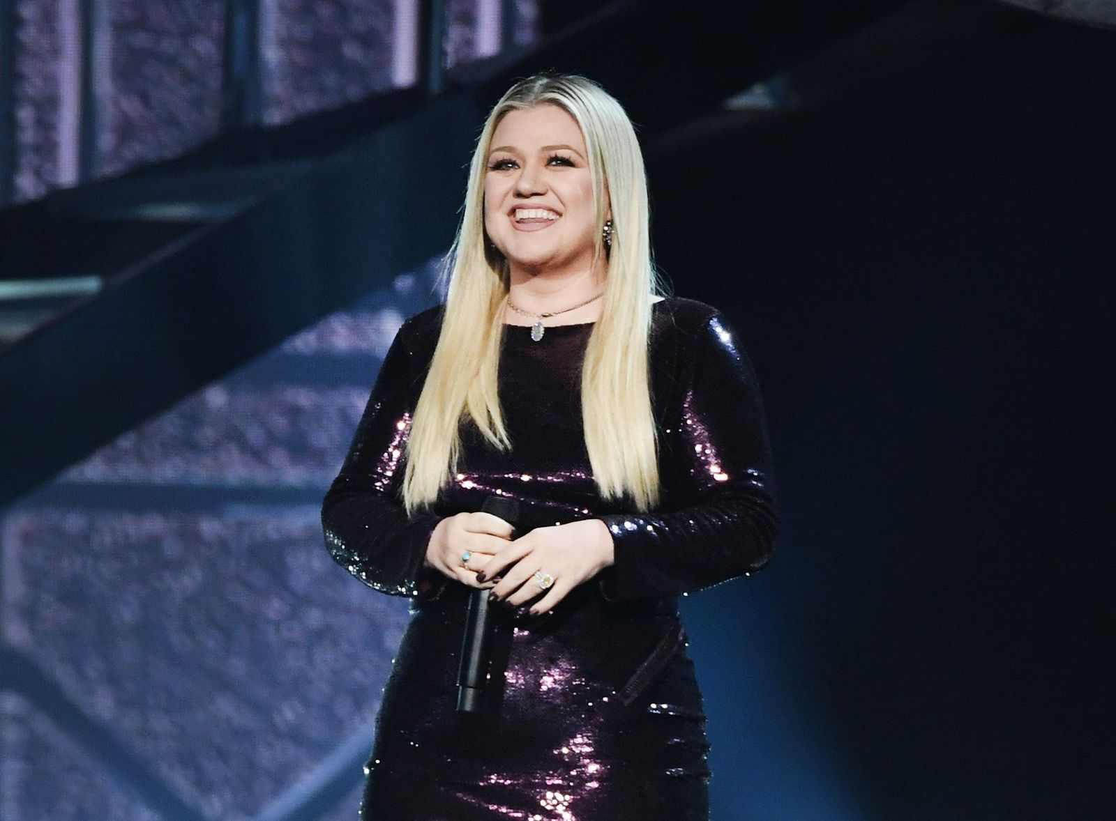 Kelly Clarkson performed onstage during the 53rd Academy of Country Music Awards at MGM Grand Garden Arena on April 15, 2018 in Las Vegas, Nevada | Photo: Getty Images