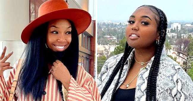 Brandy and Daughter Sy'Rai Show Their Uncanny Resemblance While Dancing in a Video