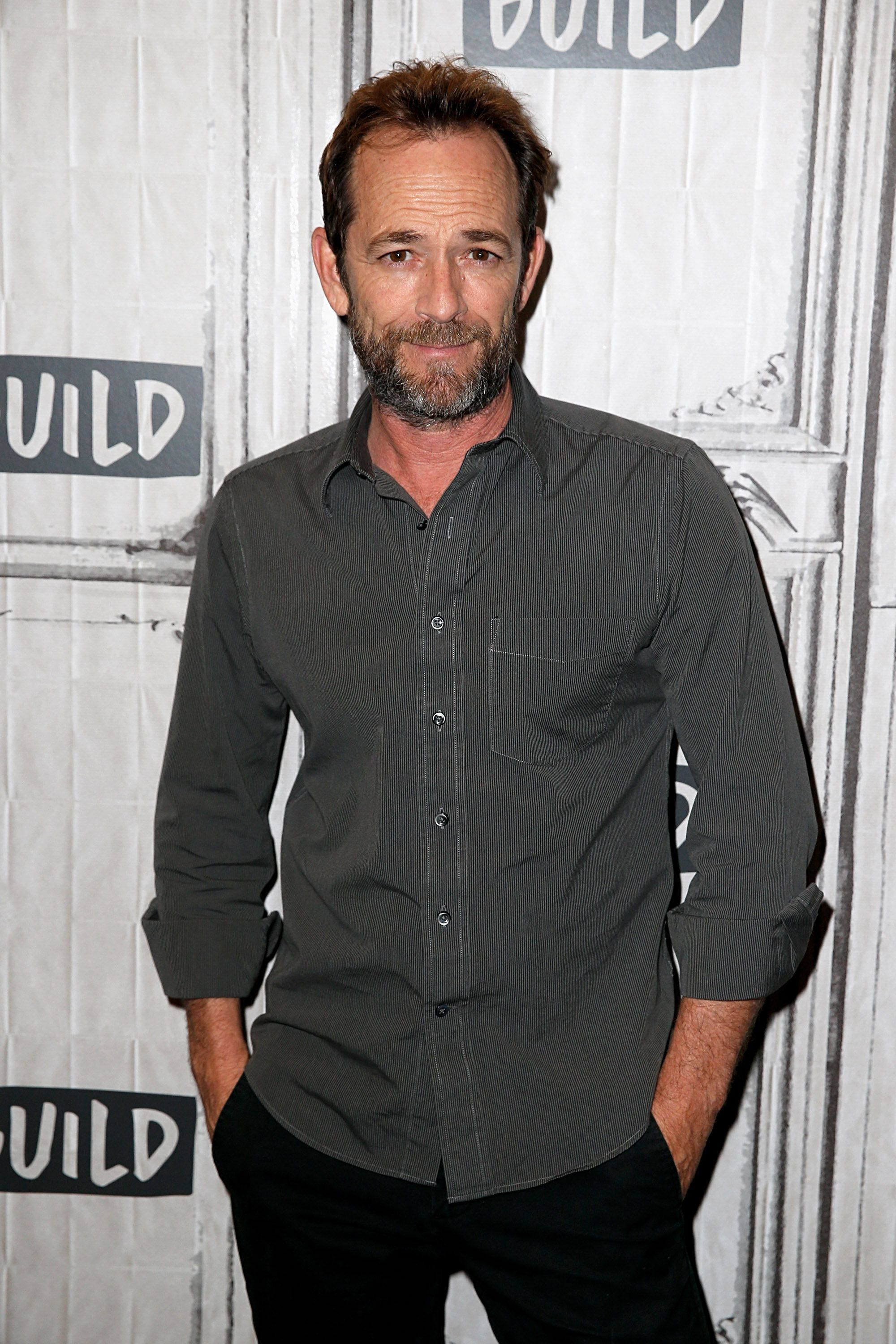 "Luke Perry at the Build Series to discuss ""Riverdale"" at Build Studio on October 8, 2018 