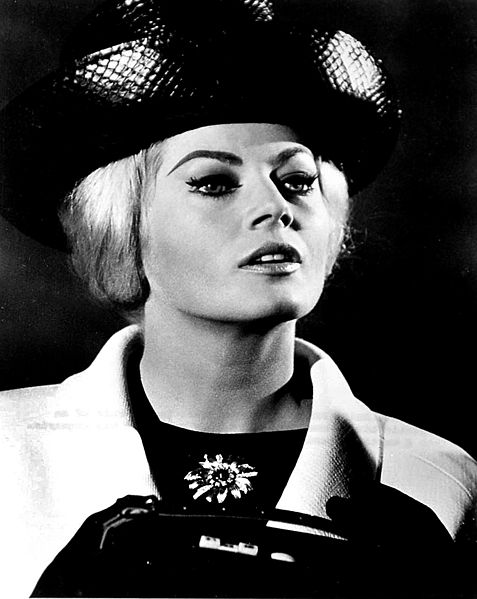 Anita Ekberg en 1965 l Source: Wikimedia Commons