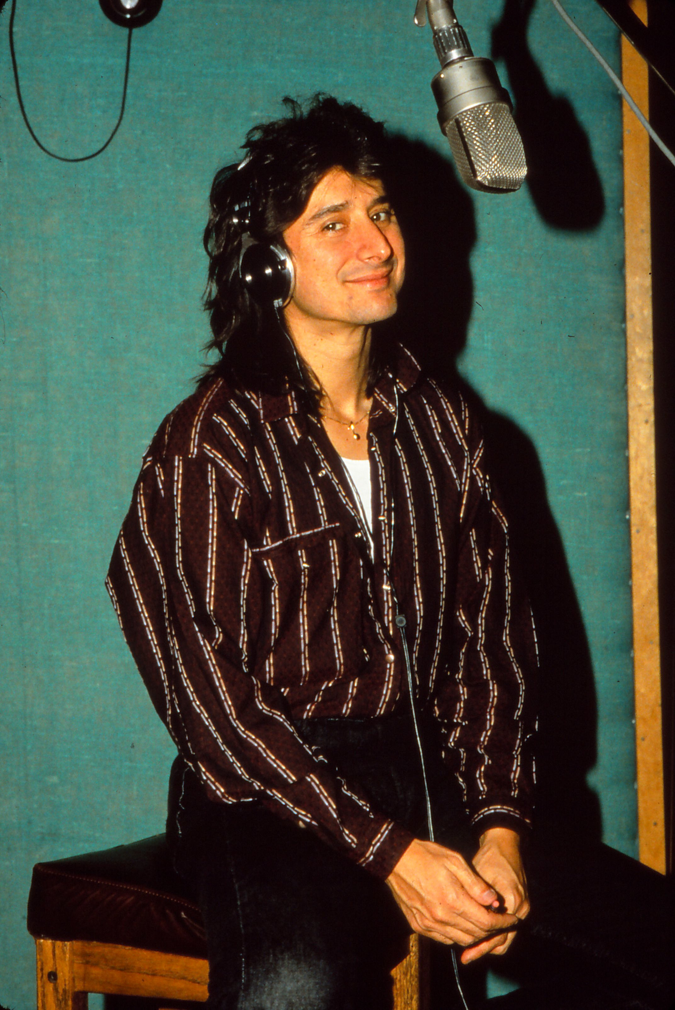 Junger Steve Perry, 1979 | Quelle: Getty Images
