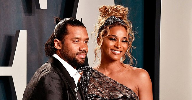Ciara's Husband Russell Wilson Looks like Twins with Son Win as They Smile in a Sweet Photo