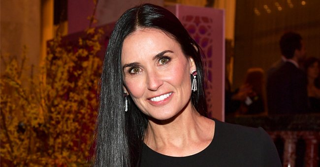 See the Iconic Photo Demi Moore Shared Arriving at 1987 Emmys with Ex-husband Bruce Willis