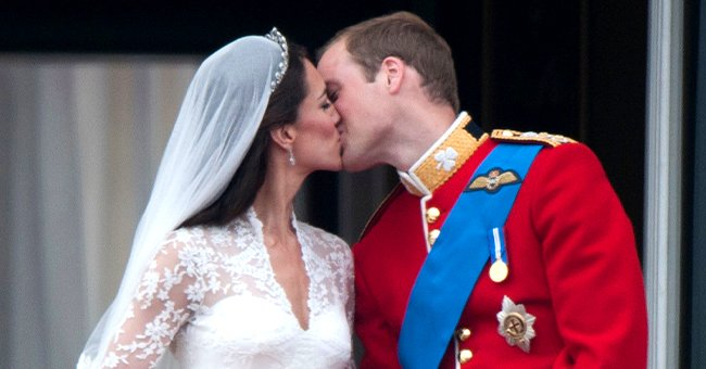 Town & Country: Inside Prince William & Kate Middleton's Sweet Balcony Kiss During Their Wedding