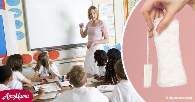 On dit aux enfants de l'école primaire que «les garçons peuvent aussi avoir leurs règles»