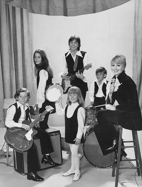 "Part of the cast of ""The Partridge Family"" in 1970. I Image: Wikimedia Commons."