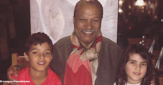 Billy Dee Williams & Japanese Wife Teruko Nakagami Are the Lucky Grandparents of Multicultural Grandkids