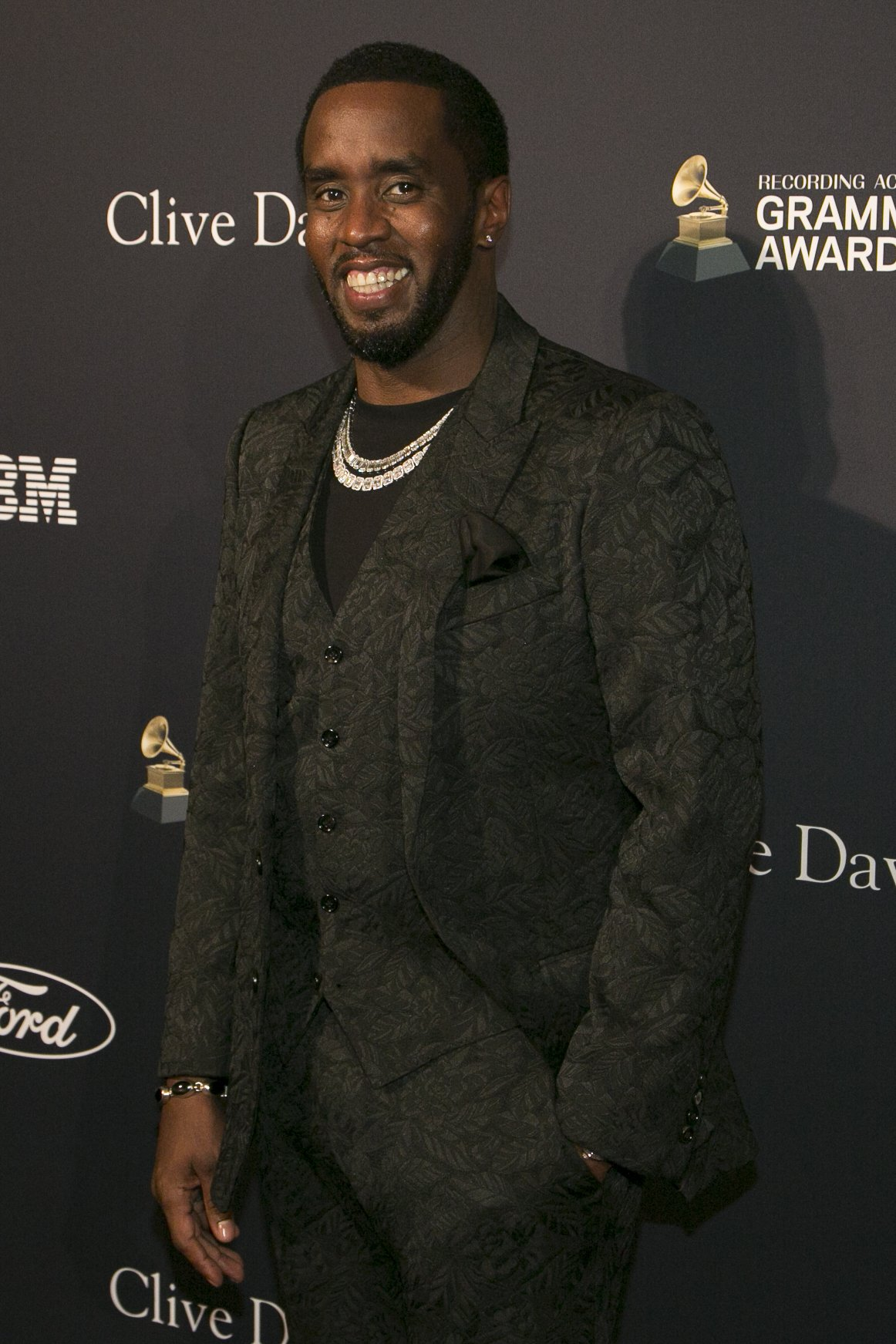 """Sean """"Diddy"""" Combs attends the Pre-Grammy Gala and Grammy Salute to Industry Icons Honoring Sean """"Diddy"""" Combs at The Beverly Hilton Hotel on January 25, 2020 in Beverly Hills, California 