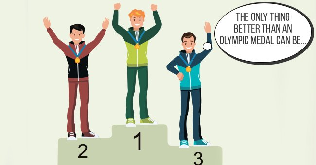 Daily Joke: Athletes at the Olympics Ponder What Could Be Better Than a Medal