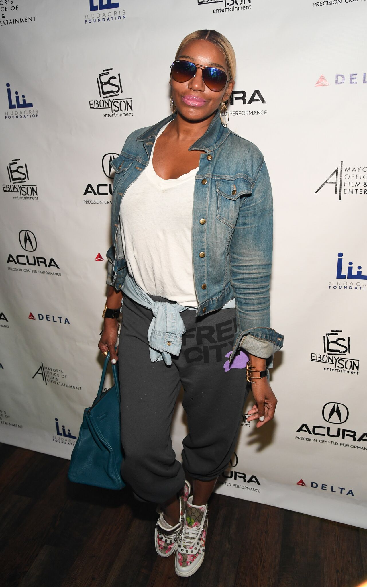 Telelvision personality NeNe Leakes at 2017 Ludaday Weekend Celebrity Bowling Tournament at Bowlmor Lanes | Getty Images